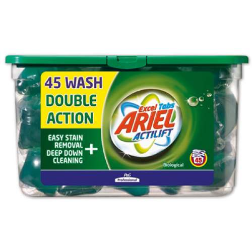 Ariel Liquitabs Bio Laundry Gel (pack of 42)