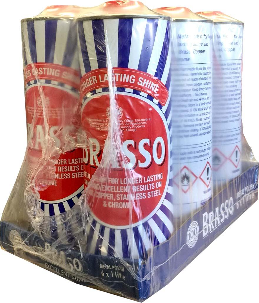 Brasso Liquid 6x1litre