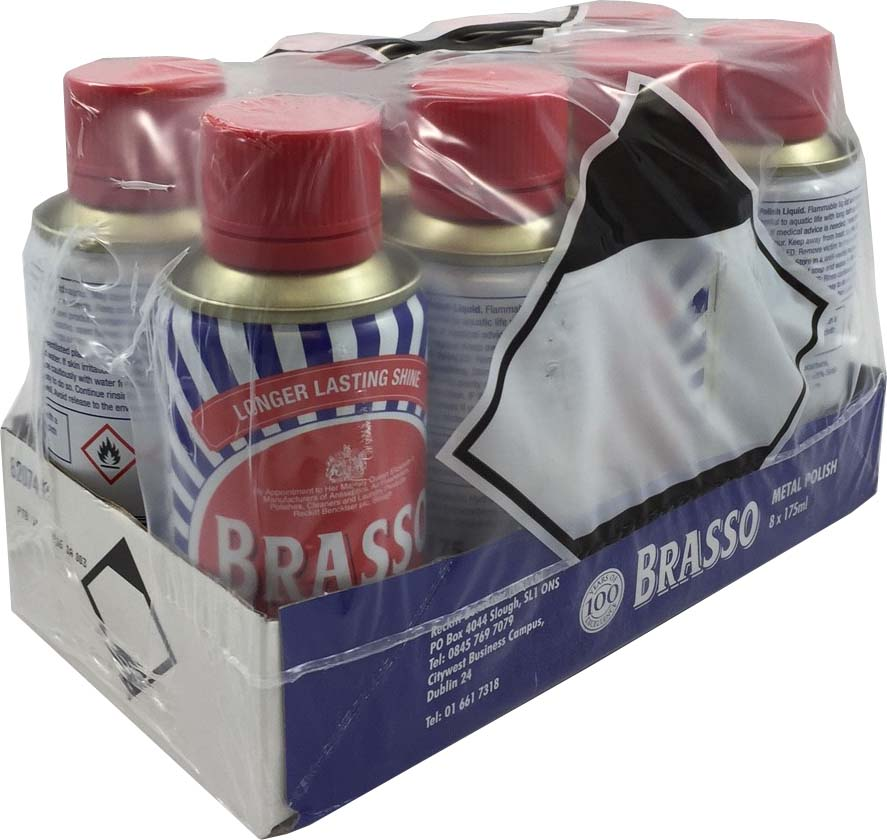 Brasso Liquid 8x175ml