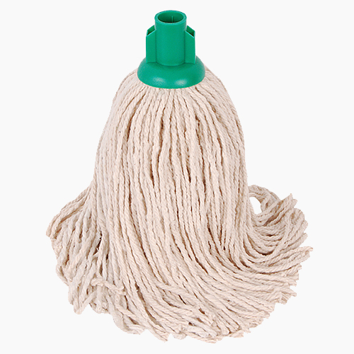 PY Socket Mop 14oz (pack of 10) GREEN