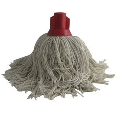 TWINE Socket Mop 14oz SINGLE RED