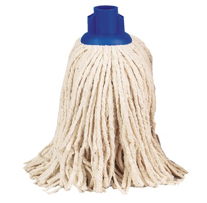 TWINE Socket Mop 14oz (pack of 10) BLUE