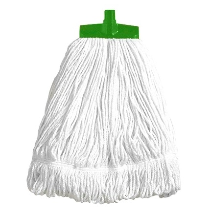 Interchange Stayflat Looped 16oz Mop - GREEN