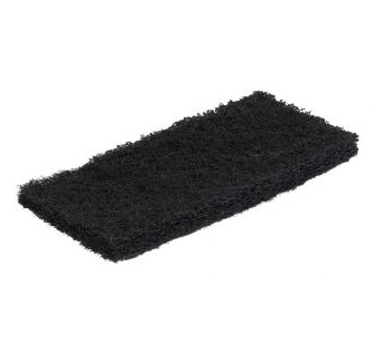 Edging Pad - Black 10-inch x 4.5-inch x 1-inch (case of 25)