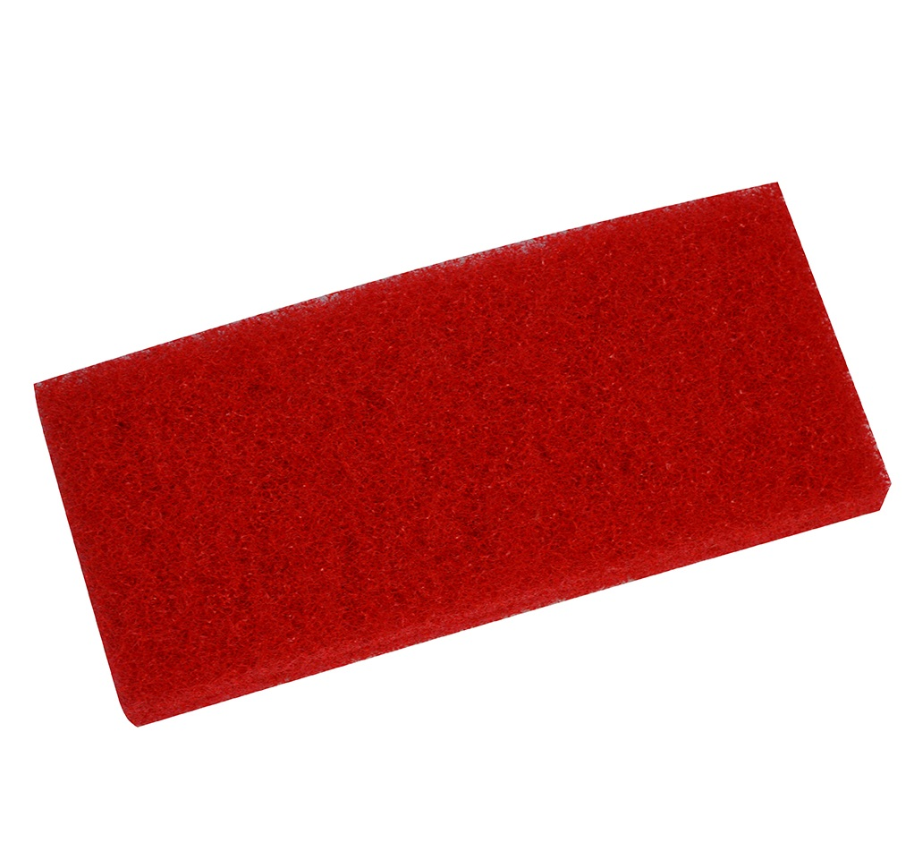 Edging Pad - RED 10-inch x 4.5-inch x 1-inch single