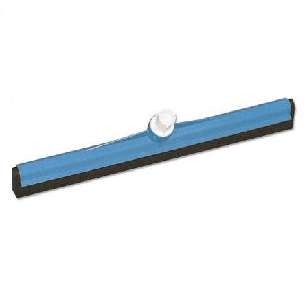 Interchange Plastic Floor Squeegee 450mm BLUE