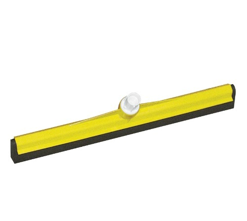 Interchange Plastic Floor Squeegee 450mm YELLOW