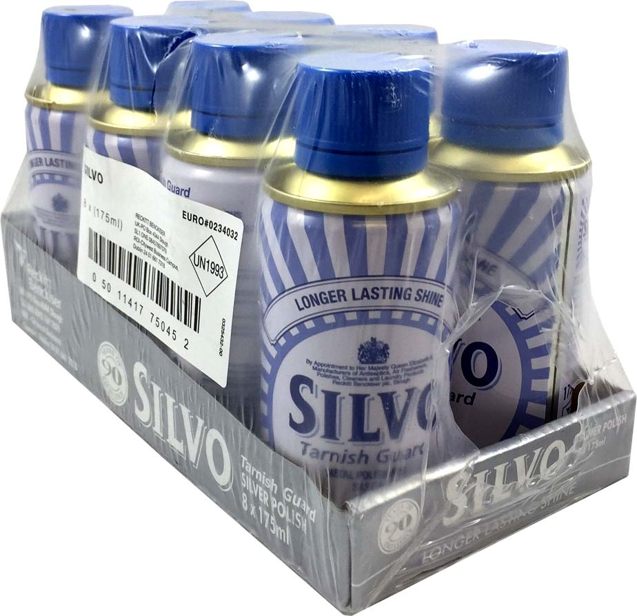 Silvo Tarnish Guard Polish 8x175ml