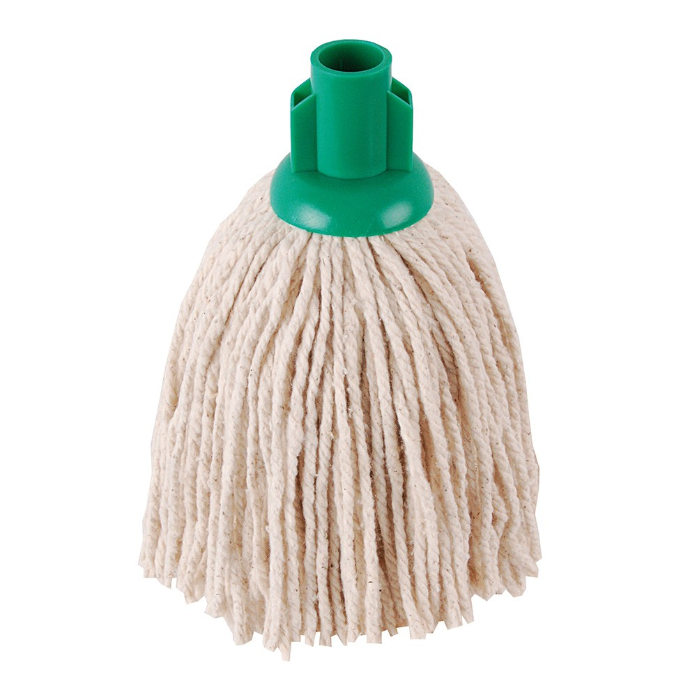 GREEN 12oz PY Socket Mop (pack of 10)