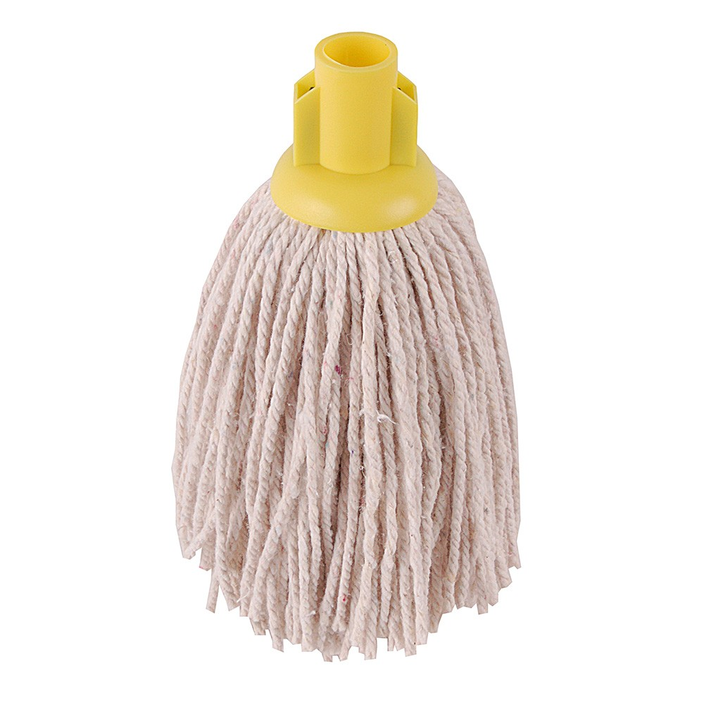YELLOW 12oz PY Socket Mop (pack of 10)