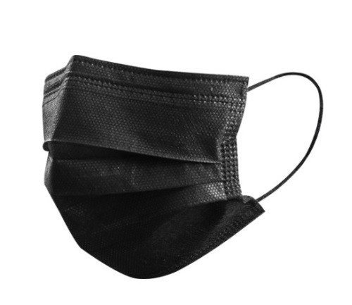 Black-3ply-Masks-Non-medical--pack-of-50--