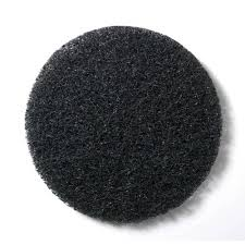 Motor-Scrubber-8-inch-BLACK-pad-x-5