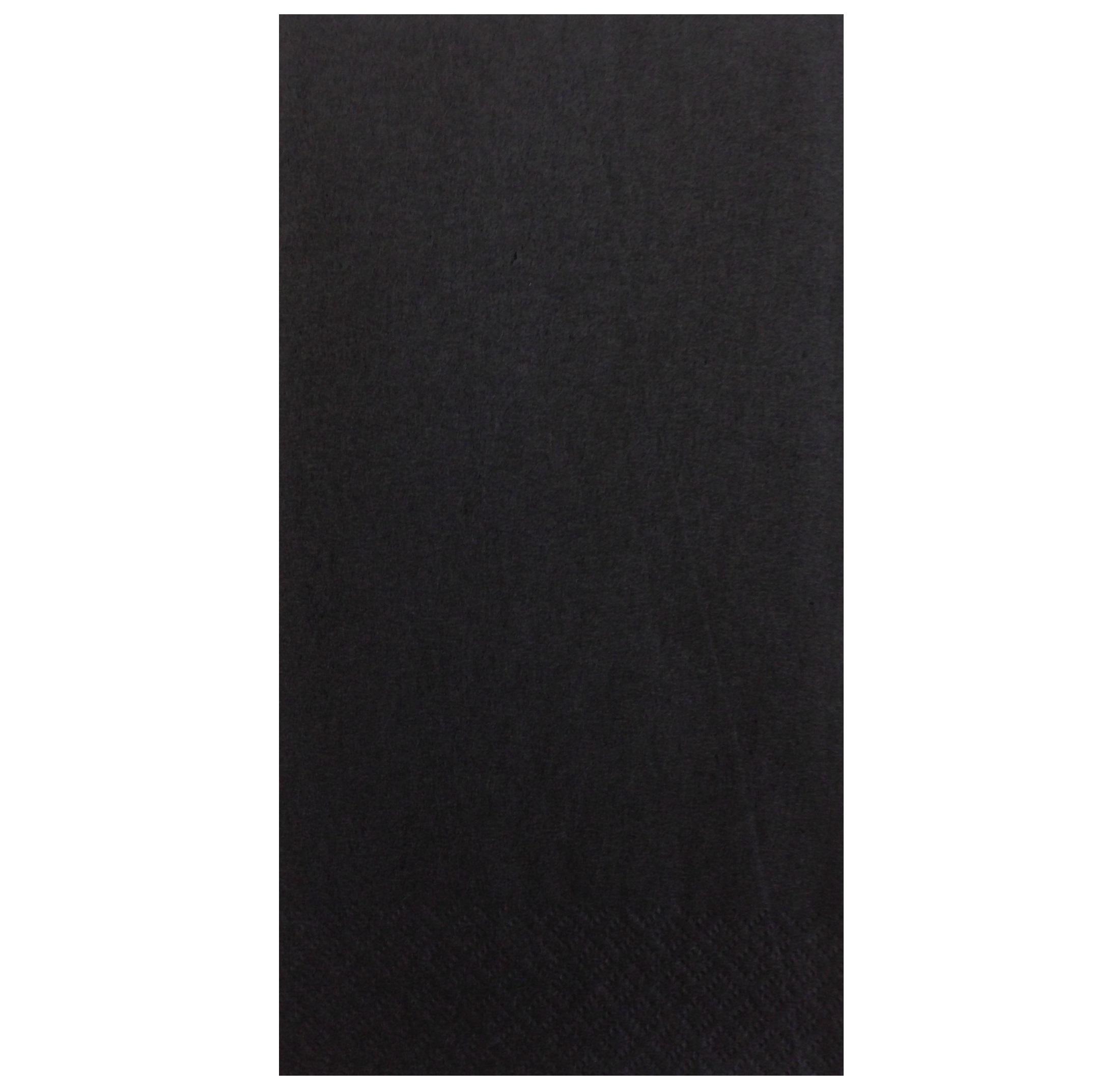Black-Napkins-40cm-3ply----8-fold--10x100