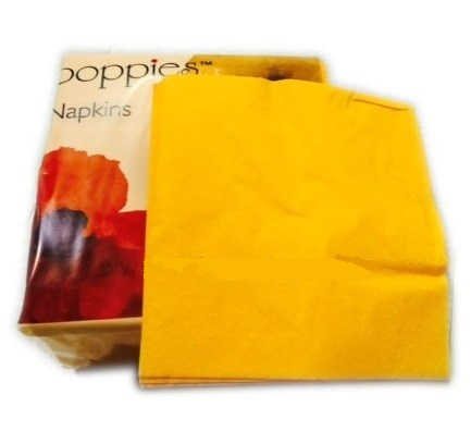 Yellow-Napkins-33cm-2ply---4-fold--16x125-