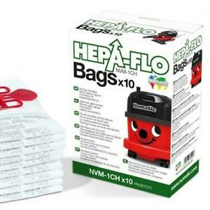 NVM1CH Numatic Vacuum Bags - Hepa-flo (Box of 10)