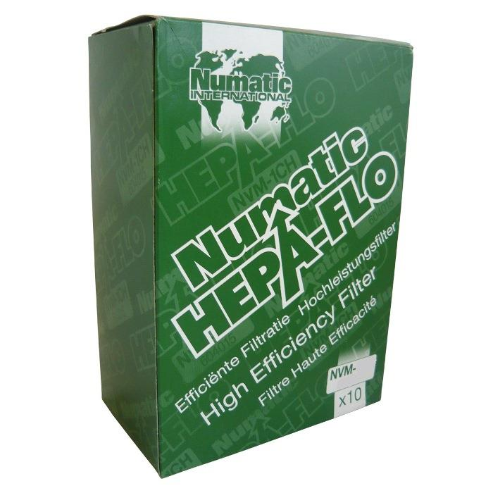 NVM2BH Numatic Vacuum Bags Hepa-flo (Box of 10)