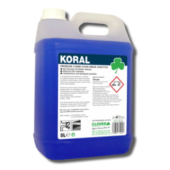 Koral Combi Oven Rinse Additive 5litre