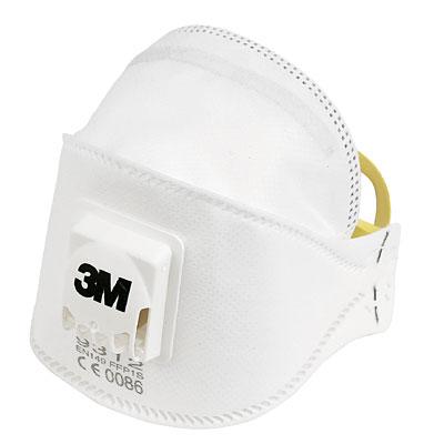 3M 9312 Foldable Valved Dust/Mist Respirator