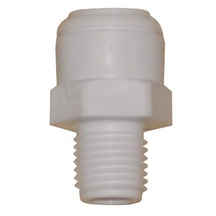1064PF Male Connector 3/8 inch-1/4 inch