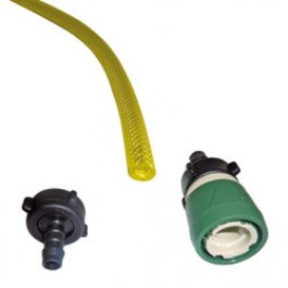 100m Unger 5mm hose with Male/Female Fittings