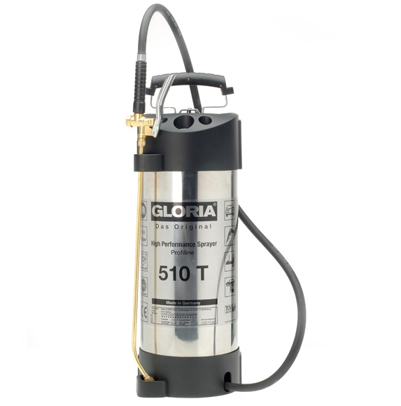 GLORIA 510 10L Stainless Steel Sprayer with Viton Seals