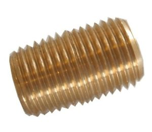 1/4-inch Nipple Brass