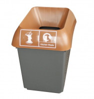 30LTR-RECYCLING-BIN-COMPLETE-WITH-BROWN-LID-AND-KITCHEN-WASTE-LOGO
