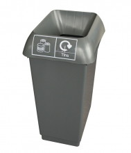 50LTR-RECYCLING-BIN-COMPLETE-WITH-DARK-GREY-LID-AND-TINS-LOGO