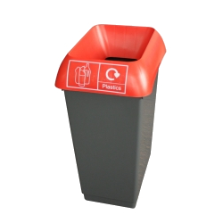 50LTR-RECYCLING-BIN-COMPLETE-WITH-RED-LID-AND-PLASTIC-LOGO