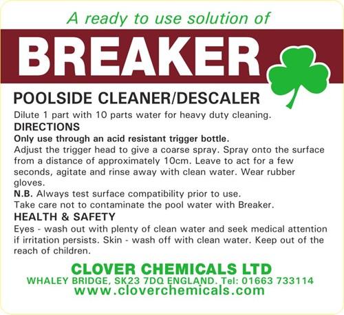 Breaker Trigger Spray Label (RTU)
