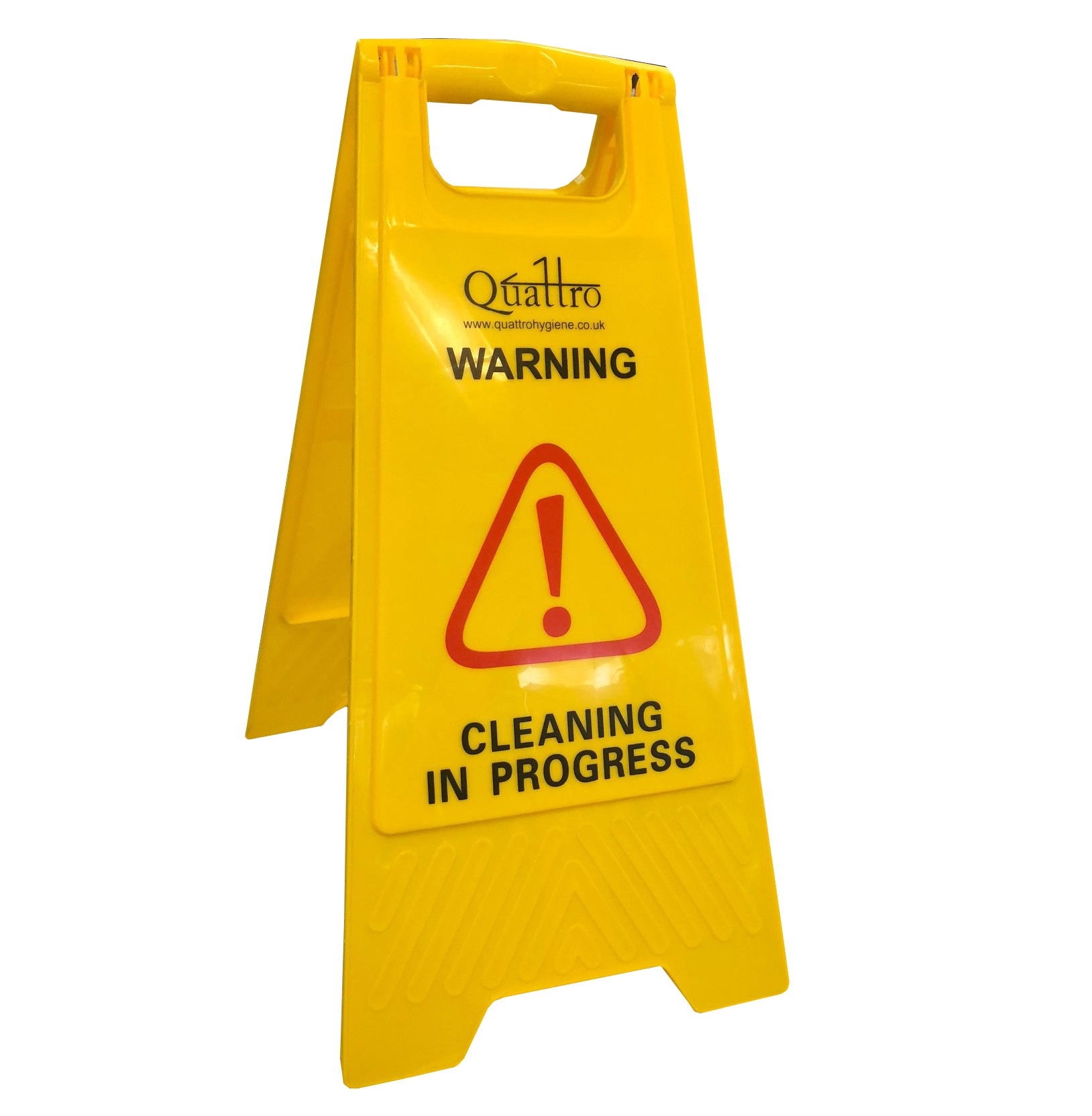 Quattro-Safety-Sign-A-Frame---Cleaning-in-Progress-Wet-Floor
