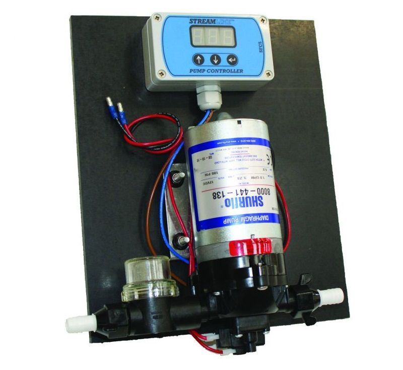 SteamBoard Pump Kit 100psi (with Flow Controller)