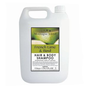 SFS French Lime & Basil Hair & Body Shampoo 5litre