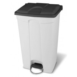 Step-on-container-90-litre---white--grey-lid-