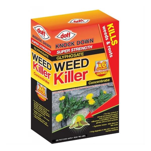 Super Strength Weed Killer - 6 sachet