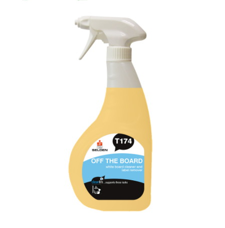 Off The Board Whiteboard Cleaner 750ml