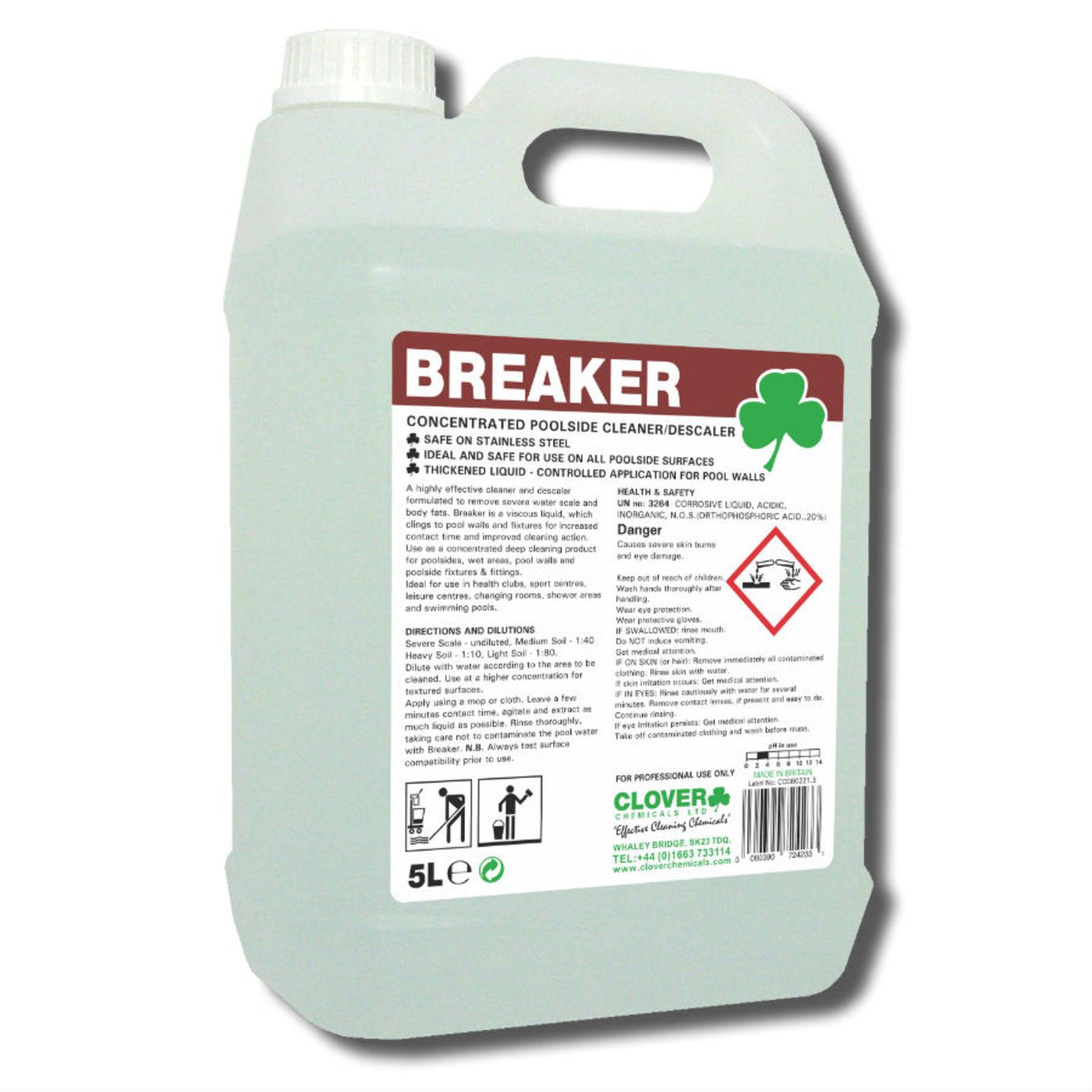 Breaker Cleaner / Descaler 5litre