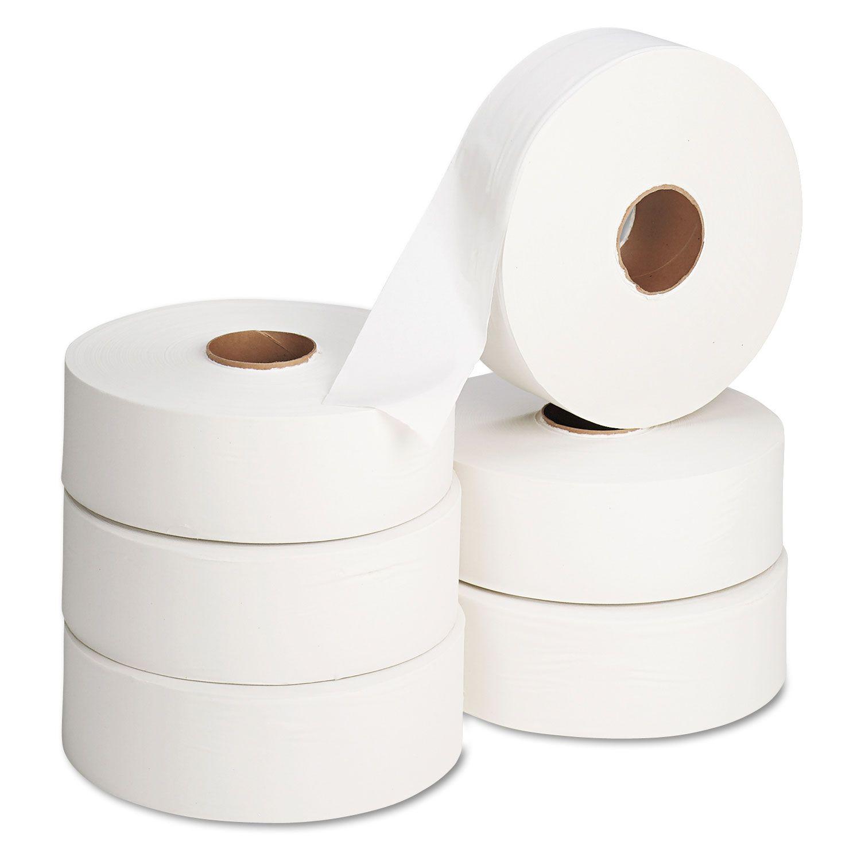 400M Standard JUMBO Toilet Rolls 2.25-inch (6 rolls) QSJ2400