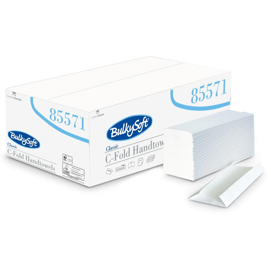Quattro-QPHTCW2-Premium-White-Soft-C-Fold-Hand-Towel-2ply-2400sh---