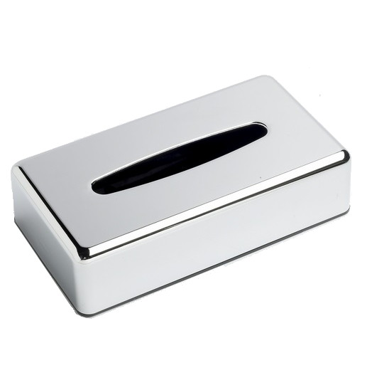 Oblong-Tissue-Box-Cover---Polish-Chrome