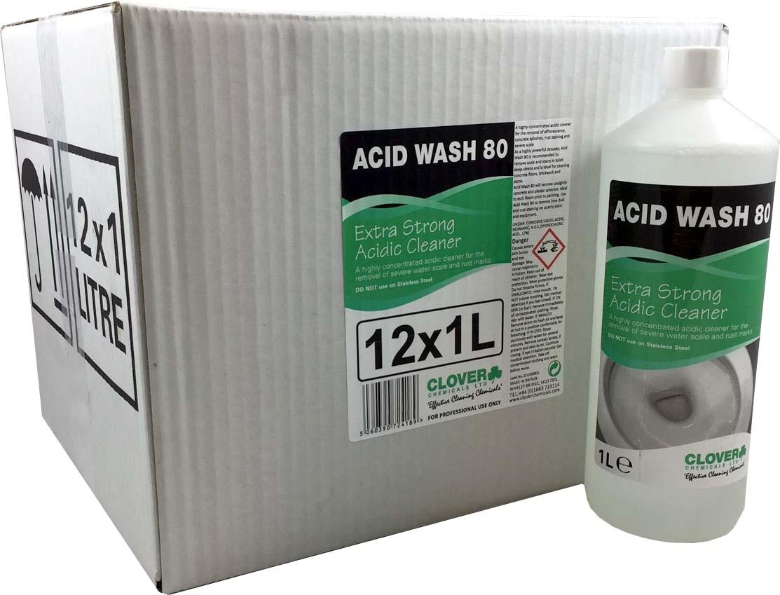 Acid Wash 80 12x1litre (case)