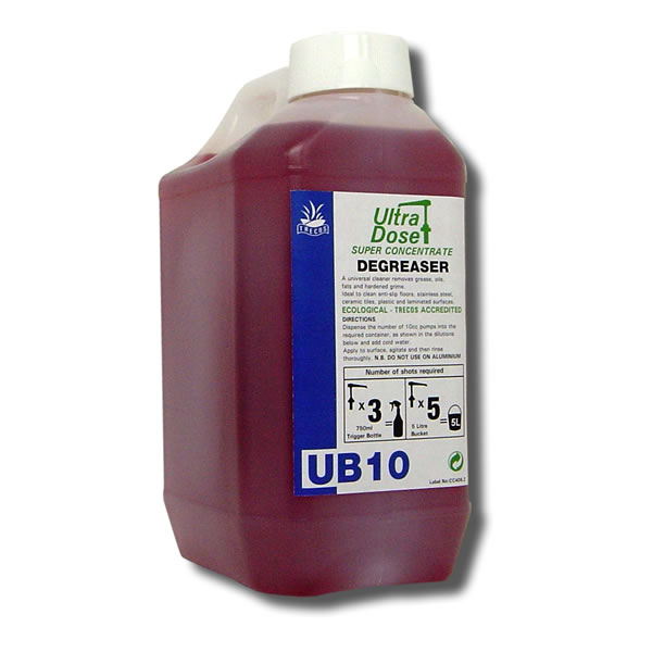 UB10 Degreaser 2litre for Ultradose System
