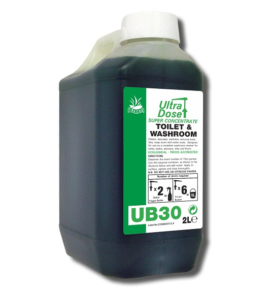 UB30 Toilet/Washroom Cleaner for Ultradose System