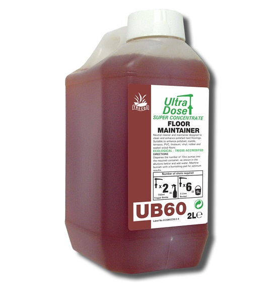 UB60 Floor Maintainer 2litre for Ultradose System