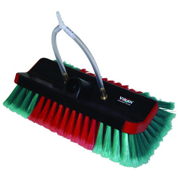 10 inch Vikan Hi-Lo Flagged Brush with jets