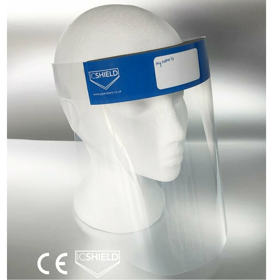 ICSHIELD-CE-Approved-PPE-Visor--500mic--Polypropylene