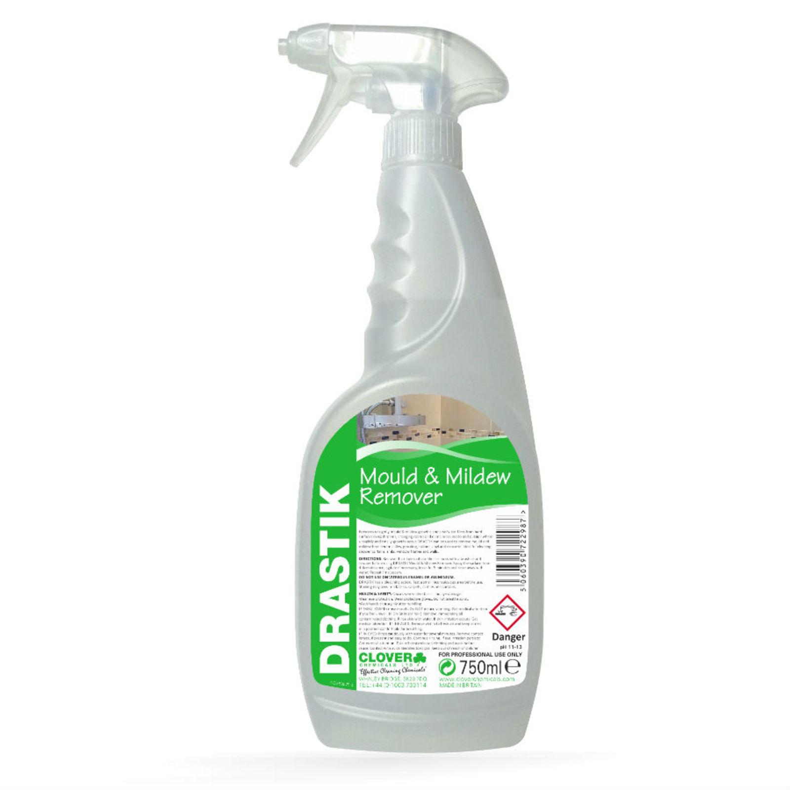 Drastik Mould & Mildew Remover 750ml