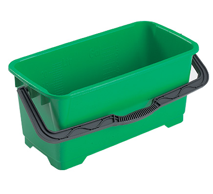 Unger-Large-Green-Oblong-Bucket-28litre