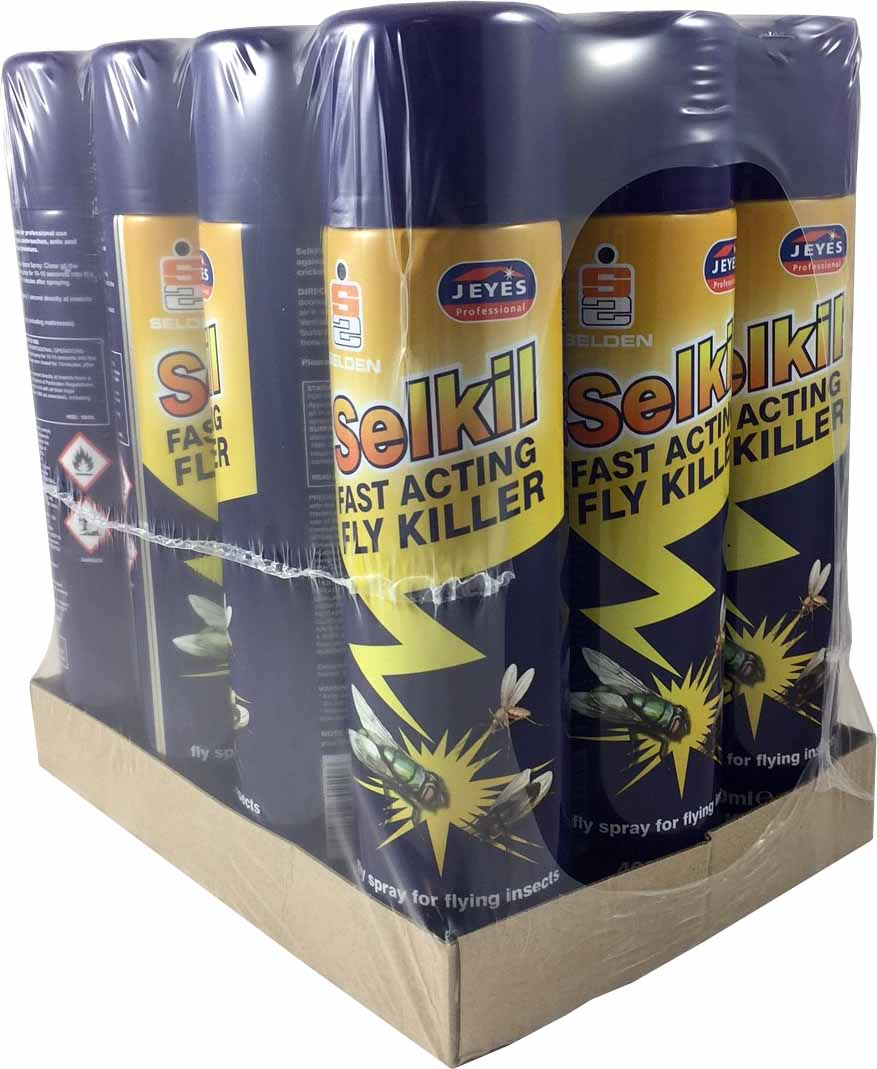SELKILL - for flying insects 12x400ml